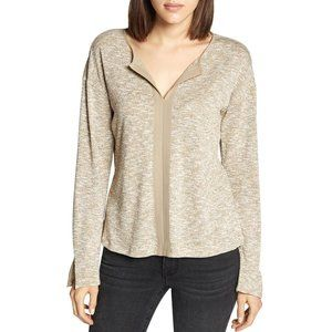 Sanctuary [Med] Natural Sienna Mix Tunic Top